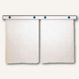 "MAUL Magnet-Wandschiene "" design"", (B)100 cm, inkl. 4 Magnete, grau, 6250084 - Vorschau"