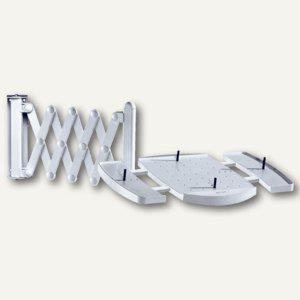"""MAUL Telefon-Scherenarm """"elegant"""", Wandhalterung, bis 5 kg, grau, 8313582 - Vorschau"""