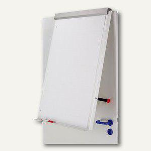 Hebel Flipchart funktionell, für Wand- oder Tür-Befestigung, silber, 6374895 - Vorschau