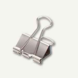 """MAUL Foldback-Klemmer """"mauly 215"""", B:19 mm, Weite: 7mm, nickel, 120 St., 2151996 - Vorschau"""