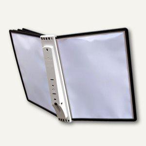 SHERPA® Display System WALL 5, Wandhalterung, mit 5 Tafeln, schwarz, 5810-01 - Vorschau