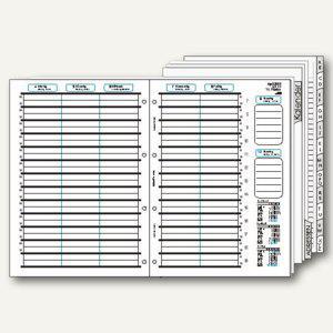 bind Kalendereinlage für DIN A4 Planer, 1 Woche = 2 Seiten, B-5402 - Vorschau