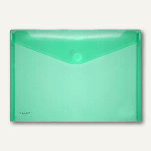 FolderSys Dokumententaschen DIN A4 quer, grün, Klettverschluß, 100 St., 40101-54 - Vorschau