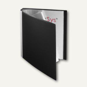 FolderSys Sichtbuch DIN A4, incl. 30 Hüllen, schwarz, 20 St., 2500330 - Vorschau