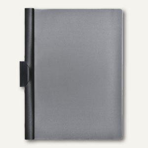 FolderSys Klemm-Mappe A4, PP, bis 40 Blatt, schwarz, VE 50 Stück, 1300330 - Vorschau