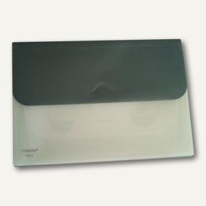 FolderSys Schubtaschenmappe A4, PP, 4 Taschen, grau, VE 25 Stück, 7002037 - Vorschau