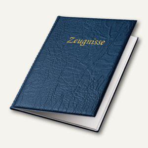 Veloflex Zeugnismappe Business, DIN A4, PVC-Weichfolie, blau, 4401850