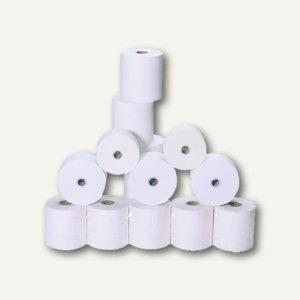Thermopapierrolle, 57mm/80mm/12 mm, 78 m Länge, weiß, 50 Stück, 3915780-50 - Vorschau