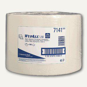 Kimberly-Clark WYPALL® L10 Wischtücher, Großrolle, 1500 Tücher, 7141 - Vorschau