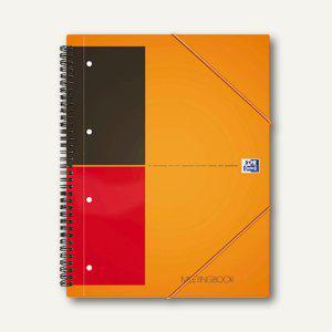 Oxford Meetingbook International, DIN A5+, kariert, Rand li/re, 80Bl., 357001711 - Vorschau