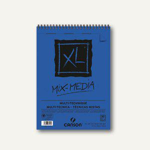 Canson Zeichenblock XL Mix Media Gouache, A3, 300 g/m², 30 Blatt, 807216 - Vorschau