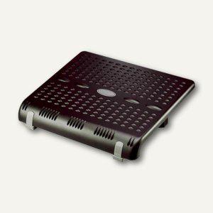 MAUL Fußstütze, 2 Stufen und 6 Neigungen einstellbar, schwarz, 9011590