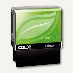 Colop Printer 30 GREEN LINE mit Gutschein, 18x47mm, 5 Zeilen, 1083702, 1083702202