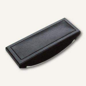"""Läufer """"Monza"""" Wiegelöscher, 165x25x70 mm, Lederfaserstoff, schwarz, 32146 - Vorschau"""