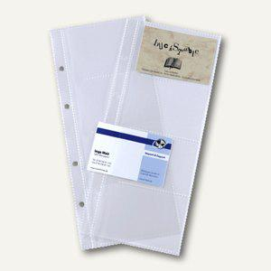 Sigel Ersatzhüllen für 80 Karten, für Visitenkartenringbuch, VZ350 - Vorschau