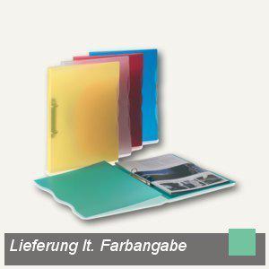 dataplus Ringbuch Trend A4, Ø 15 mm, grün-transparent, 5-er Pack, 28042830 - Vorschau