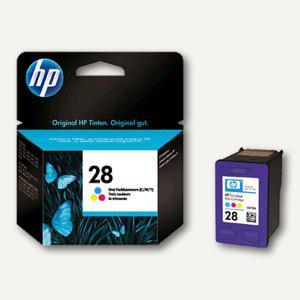 HP Tintenpatrone Nr.28, farbig, 8 ml, C8728AE - Vorschau