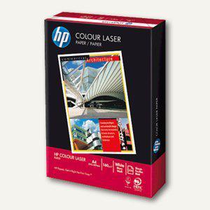 "HP Farblaser-Papier "" Colour"", DIN A4, 160 g/m², weiß, 250 Blatt, CHP400"