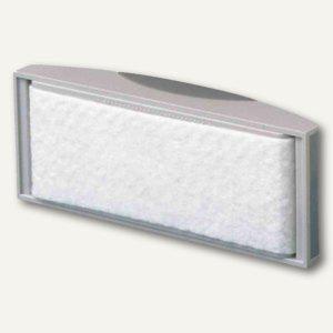 Tafelwischer mit Vlies-Spanneinrichtung, magnethaft., 11.4 x 5.7 cm, grau, 2 St. - Vorschau