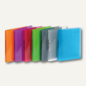 Ringbücher PROPYGLASS® Viquel A4, 2-Ringe Ø 20 mm, transparent-sortiert, 12 St., - Vorschau