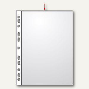 Veloflex Prospekthüllen DIN A3 hoch, glasklar 80my, 100er Pack, 4333001 - Vorschau