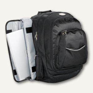 Lightpak Business Rucksack ADVANTAGE, Laptoptasche, Nylon, schwarz, 46090