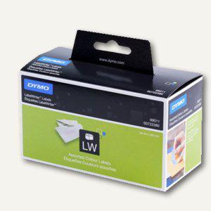 Vielzweck-Etiketten, permanent, 89 x 28 mm, farbig sortiert, 4 x 130 Stück, S072