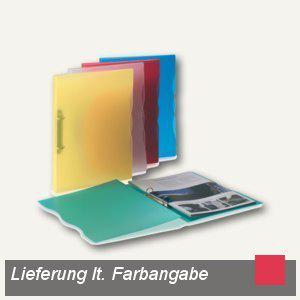 dataplus Ringbuch Trend A4, Ø 15 mm, rot-transparent, 5-er Pack, 28042820 - Vorschau