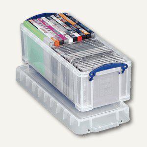 Aufbewahrungsbox 6.5 Liter, 380 x 143 x 120 mm, transparent, 4805529 - Vorschau