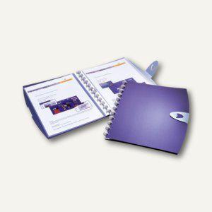 Durable Sichtbuch DURALOOK® Easy Walk, mit 20 Hüllen, dunkelblau, 4 St., 2453-07 - Vorschau