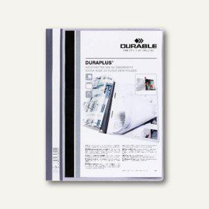 Durable Duraplus Angebotshefter DIN A4, grau, 25 Stück, 2579-10 - Vorschau