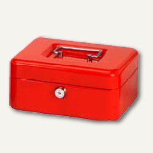 MAUL Geldkassetten mit Münzeinwurf, 12.5 x 9.5 x 6.0 cm, rot, 5603025 - Vorschau