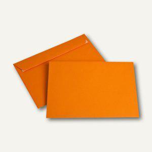 Briefumschlag DIN C5, 100 g/m², haftklebend, orange, 250 Stück - Vorschau