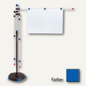 MAUL Mobilpresenter, höhenverstellbar 1.40 m bis 2 m, blau, 6256035
