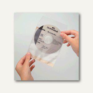 "Durable Selbstklebehülle "" CD/DVD FIX"", transparent, 50 Stück, 5210-19 - Vorschau"