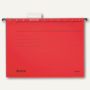 LEITZ Alpha Hängemappe für DIN A4, rot, 25er Pack, 19850025 - Vorschau