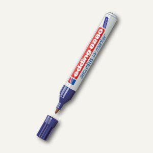 Edding 8280 Securitas UV-Marker, farblos, Rundspitze, 10 Stück, 4-8280100 - Vorschau