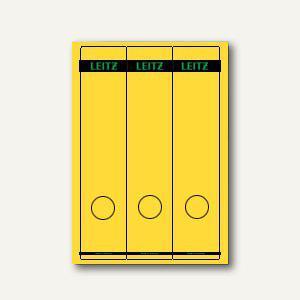 LEITZ Rückenschilder, PC-Beschriftung, breit/lang, gelb, 75 Stück, 1687-00-15 - Vorschau