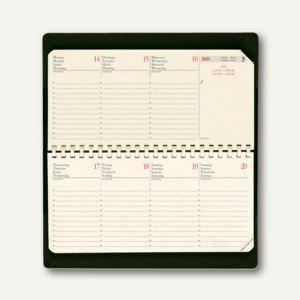 """Quo Vadis """" Planital Impala"""" Taschenkalender - 8.8 x 17 cm, schwarz, 422098Q - Vorschau"""