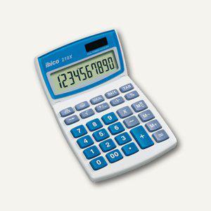 Ibico Tischrechner 210 X, hellgrau/blau, 10-stellig, IB410079 - Vorschau