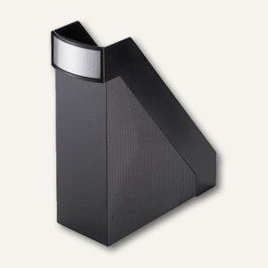 """Helit Büro-Stehsammler """"linear"""", extra-breit 102 mm, schwarz, H63615.95 - Vorschau"""