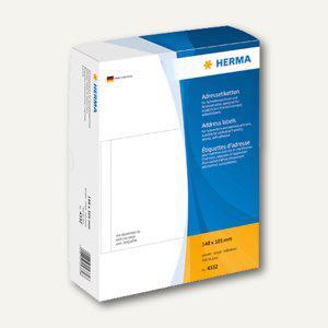 Herma Adressetiketten, einzeln, 148 x 105 mm, 500 Stück, 4332 - Vorschau