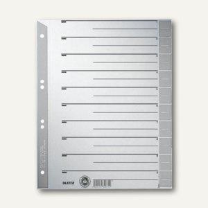 LEITZ Trennblätter DIN A4, grau, 100 Blatt, 16520085 - Vorschau