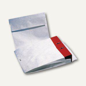 Ordnerfaltentasche, 326 x 318 x 68 mm, haftklebend, 70 g/m², weiß, 10 St. - Vorschau