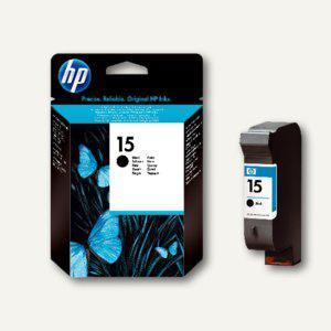 HP Tintenpatrone Nr.15, schwarz, 14 ml, C6615NE - Vorschau