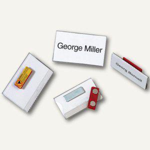 Durable Namensschild mit Magnet, 90 x 54 mm, transparent, 25 Stück, 8117-19 - Vorschau