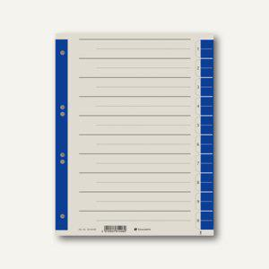 officio Trennblätter DIN A4, 230g/m², farbig blau, 100 Stück - Vorschau