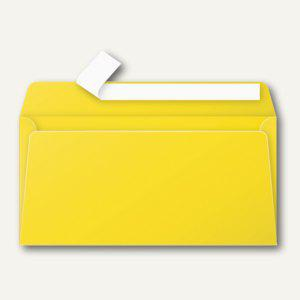 Clairefontaine Briefumschlag DL, haftklebend 120 g/m², sonne, 20 Stück, 5565C - Vorschau