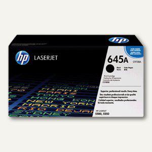 HP Tonerkartusche schwarz für HP Color Laserjet 5500, Nr.645A, C9730A - Vorschau