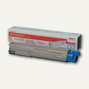 OKI Lasertoner für C3300/3400/3450/3600, ca. 1.500 Seiten, cyan, 43459435